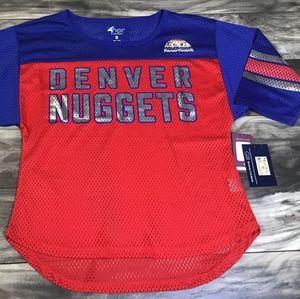 Denver Nuggets: Carl Banks G-III Womens M Shirt